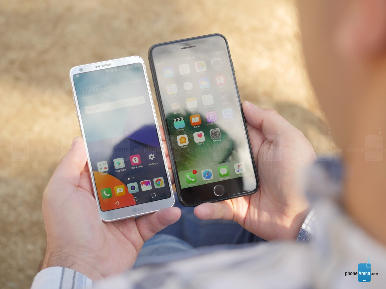 LG G6 vs iPhone 7 Plus: a preview - PhoneArena