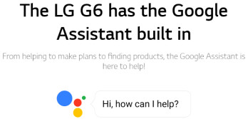 LG G6 is the first non-Pixel phone announced with Google Assistant