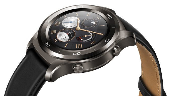 Huawei Watch 2 breaks cover: big and bad, with a fully independent option