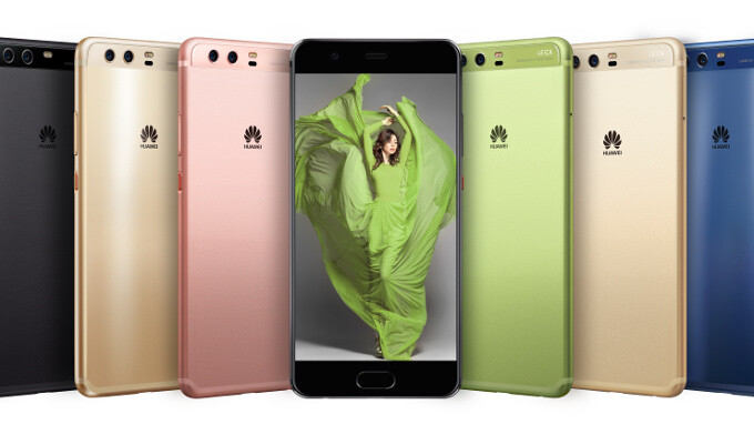Huawei P10 vs Apple iPhone 7 vs Galaxy S7 vs LG G6 and others: size comparison