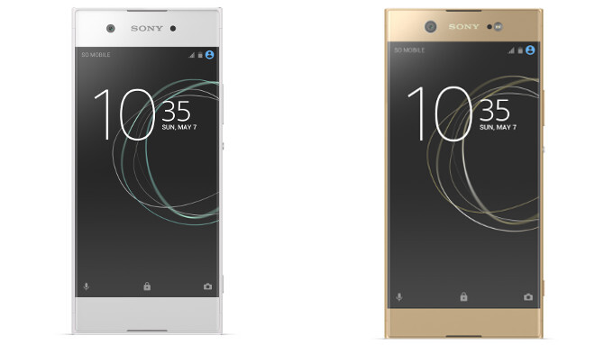 The Sony Xperia XA1 (left) and the Sony Xperia XA1 Ultra (right) - Sony Xperia XA1 and XA1 Ultra specs comparison: let's see how much punch do Sony's new budget-friendly phones pack