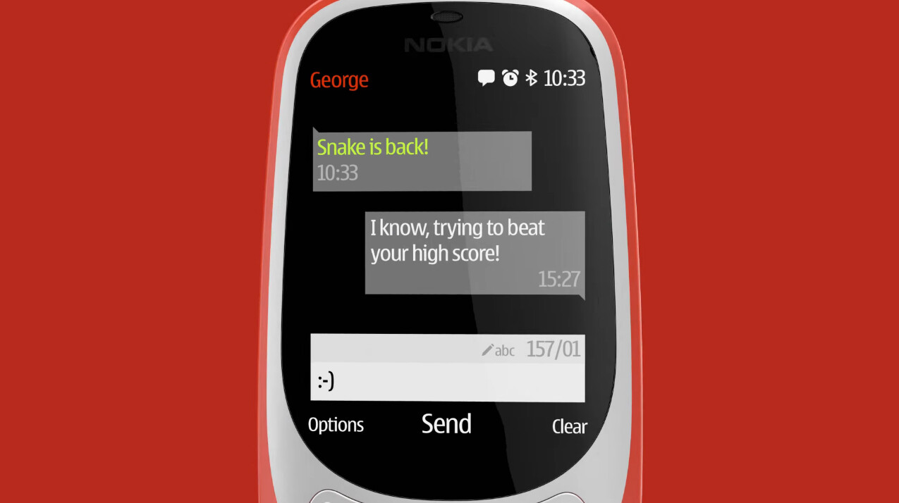 New Nokia 3310 is here!