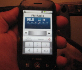 FM Radio is a nice hidden feature on the Motorola CLIQ