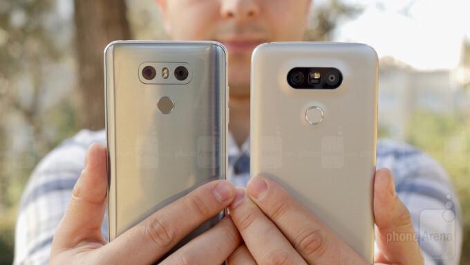 LG G5 vs LG G6: first look