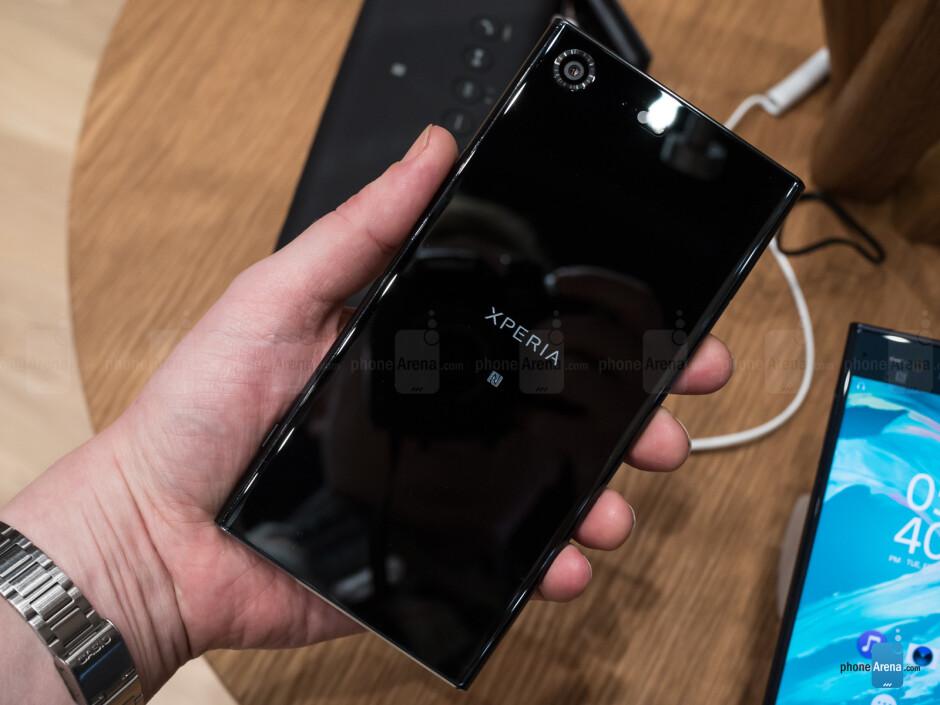 Xperia XZ Premium in black - subtle elegance - Sony Xperia XZ Premium vs Z5 Premium: should you upgrade?
