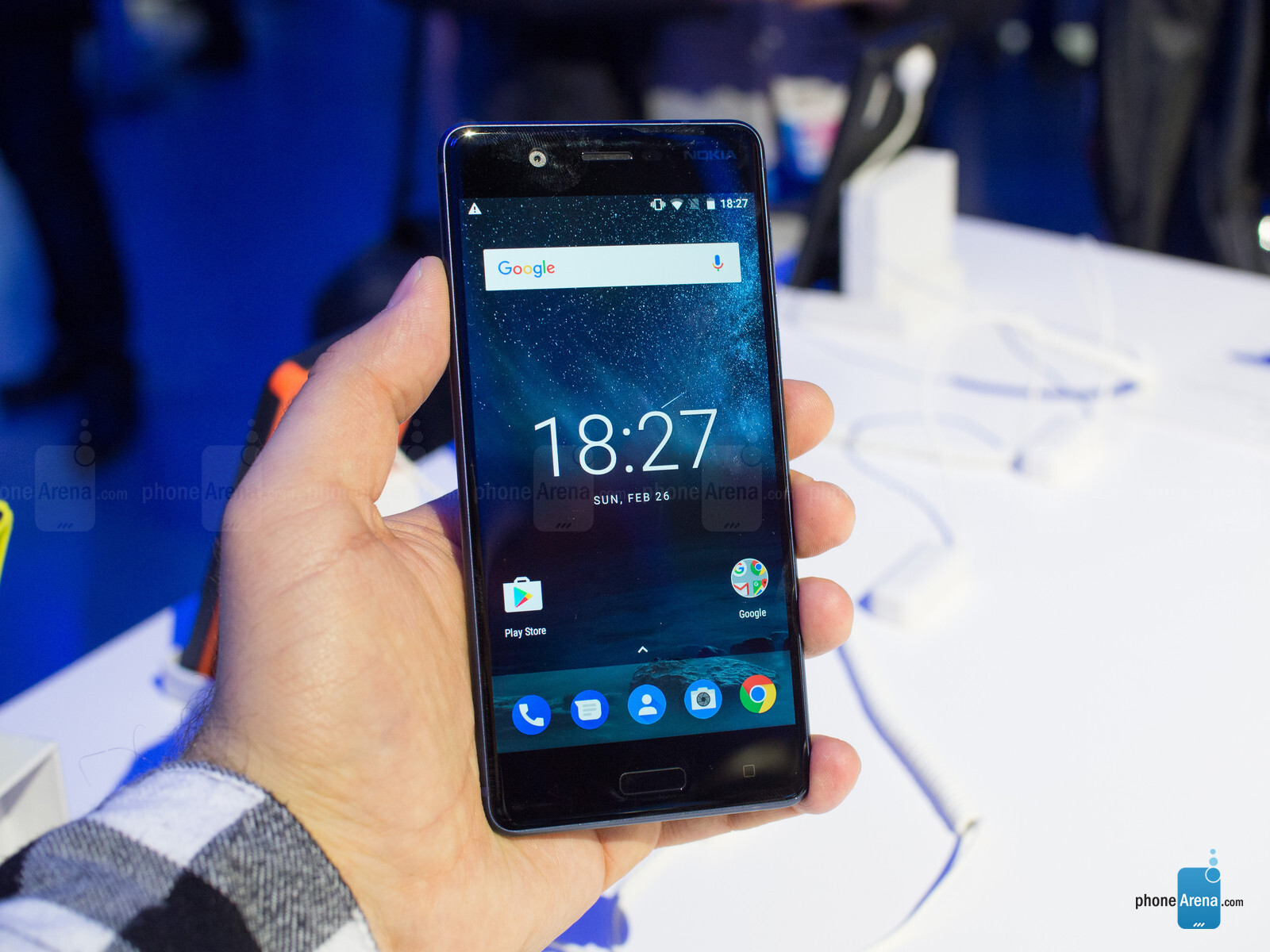 Nokia 5 Hands On Preview Bouncing Back On Stock Android