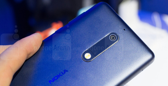huge selection of 69028 49f43 Nokia 5 hands-on preview: bouncing back on stock Android ...