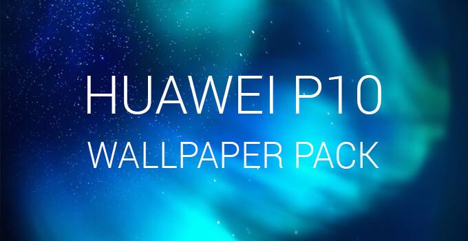 Huawei P10, P10 Plus, and P10 Lite stock wallpaper pack