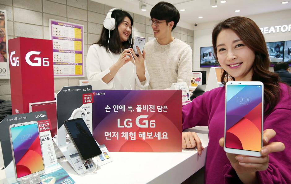 Do you like the LG G6?