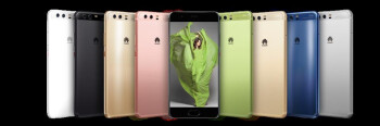 Huawei's P10 line features a plethora of color options