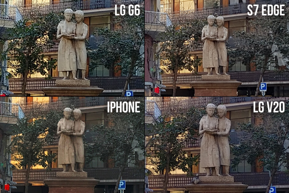 LG G6 vs Galaxy S7 edge, iPhone 7 Plus, LG V20: camera comparison