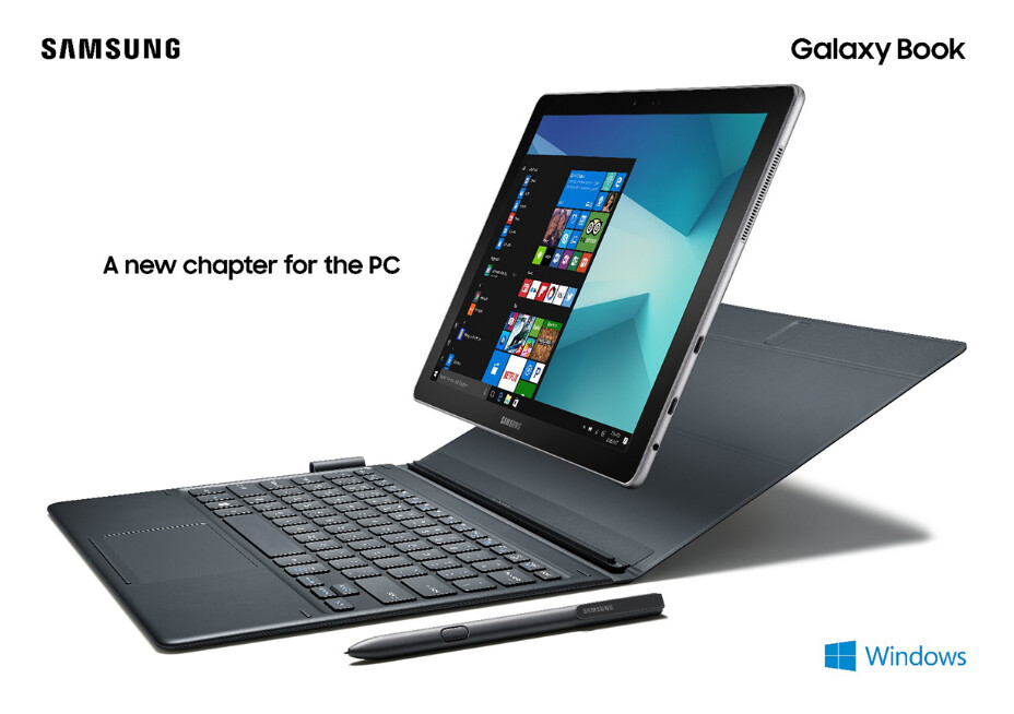 The Samsung Galaxy Book 2-in-1 tablet is expected to bring growth back to Samsung's tablet group - Samsung sees strong growth ahead for the 2-in-1 Windows powered tablet market