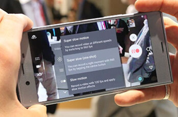 Sony Motion Eye slow-mo hands-on: shooting at high speed with the new Xperias