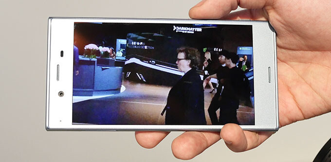 Sony Motion Eye slow-mo hands-on: shooting at high speed with the