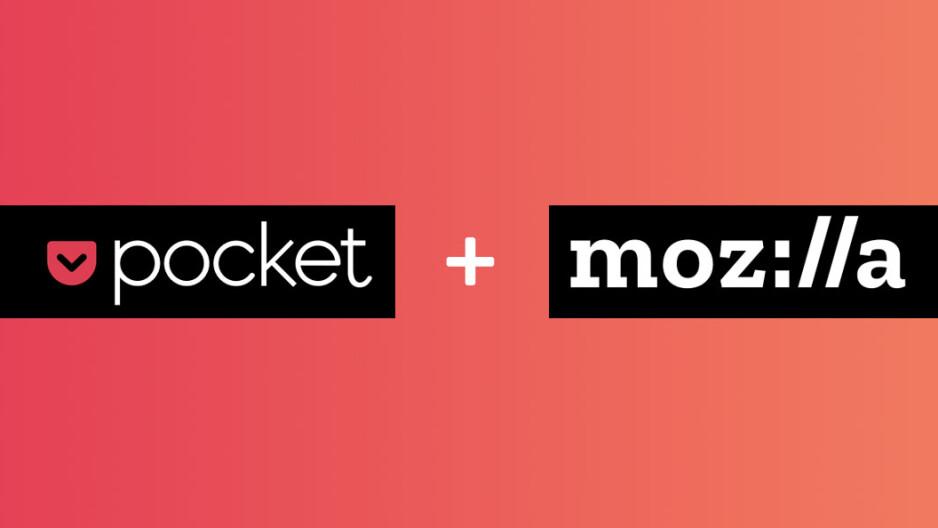 Mozilla acquires online bookmarking app Pocket