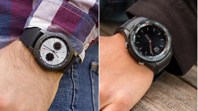 Huawei Watch 2 vs Samsung Gear S3 Frontier - PhoneArena