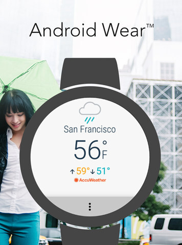 AccuWeather launches new Android Wear 2.0 app