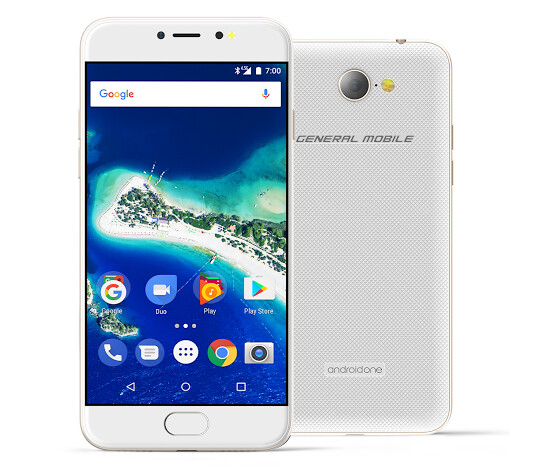 The GM6 by General Mobile, is the latest Android One handset and is being produced for consumers in Turkey - New Android One handset features a fingerprint scanner and more