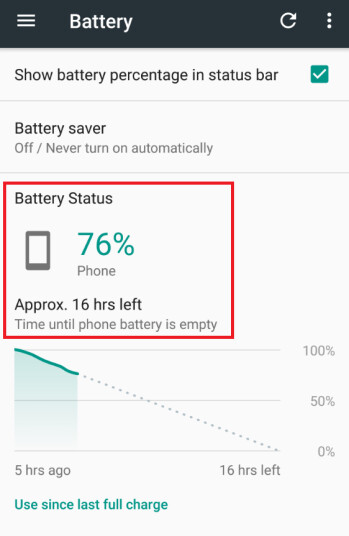 Clearing the cache returned outstanding battery life to our Moto Z Force Droid
