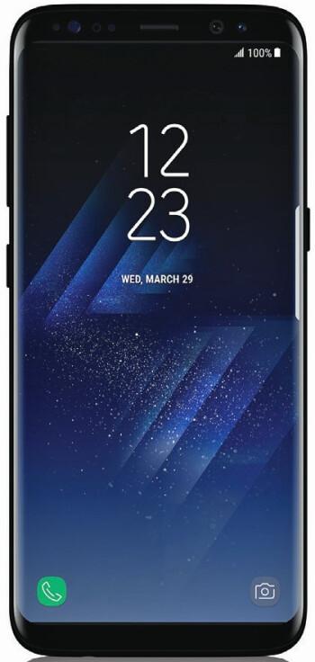 Galaxy S8 press render leaked by Evan Blass