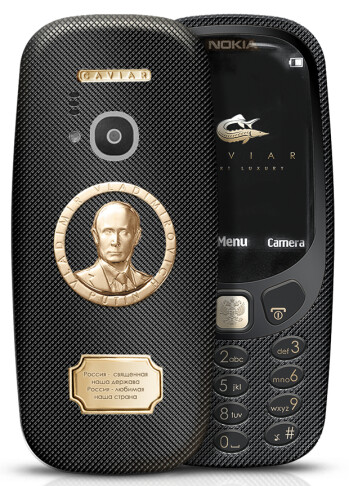 The Caviar 3310 is a phone that you can easily, ahem, Putin your pocket..