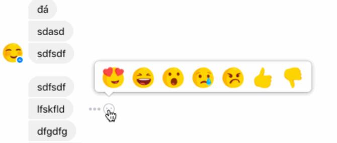 Facebook is testing reaction emoji for Facebook Messenger users - Reaction emoji being tested for Facebook Messenger