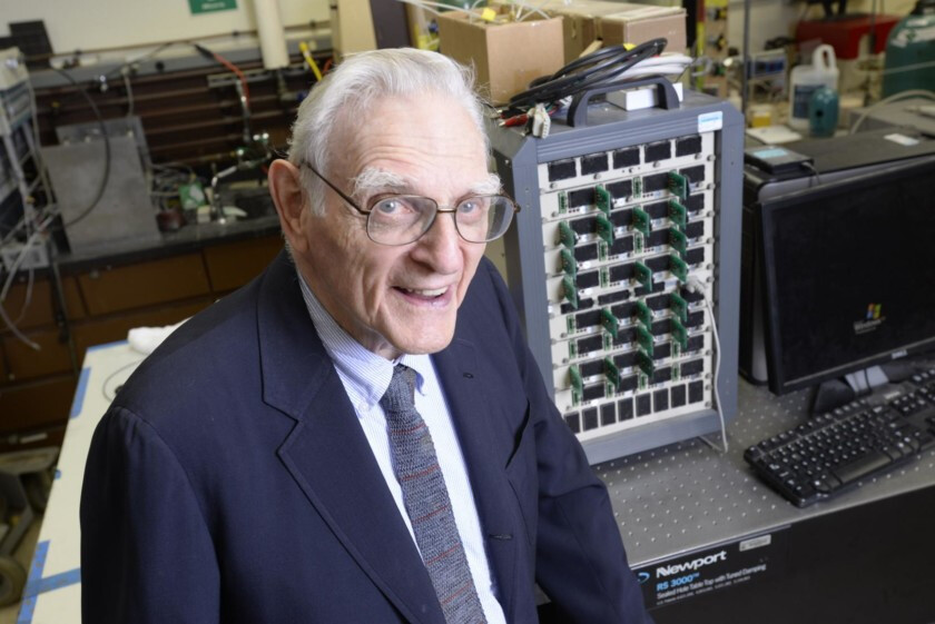 John B. Goodenough, our new hero - The inventor of Li-ion batteries is developing a vastly superior battery technology