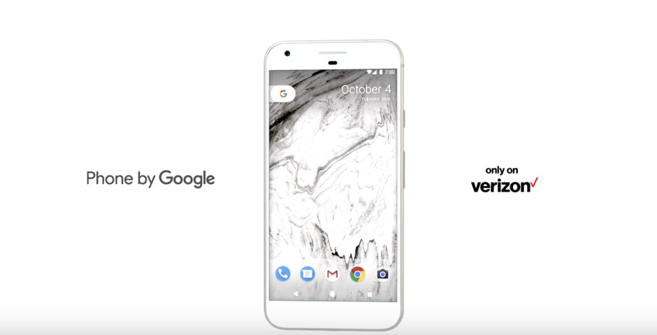 The Google Pixel and Pixel XL on Verizon are now receiving Android's March security patch
