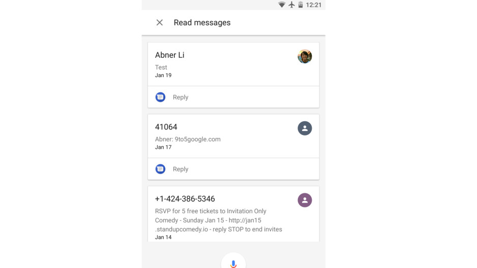 The Google Assistant can now help with reading and replying to text messages