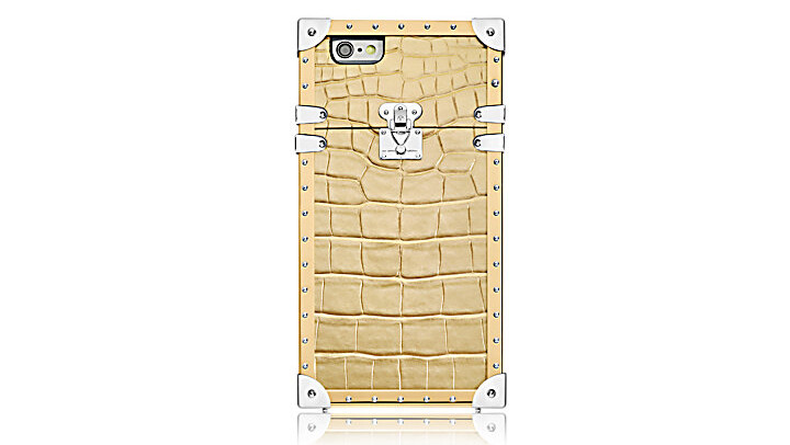 The Golden crocodile leather variant of the Eye-Trunk costs an arm and a leg - This $5000 Louis Vuitton iPhone 7 case will make you lose faith in humanity