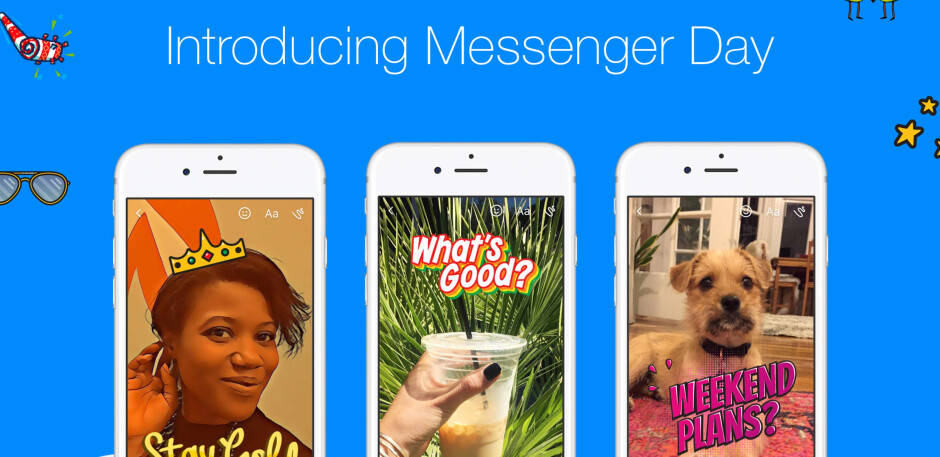 Facebook launches Messenger Day around the world and its a complete rip off of Snapchat Stories