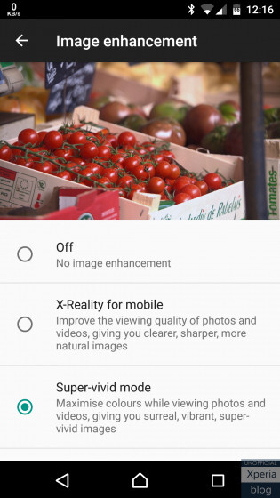 New Xperia X Concept build re-enables VoLTE, adds X-Reality for videos
