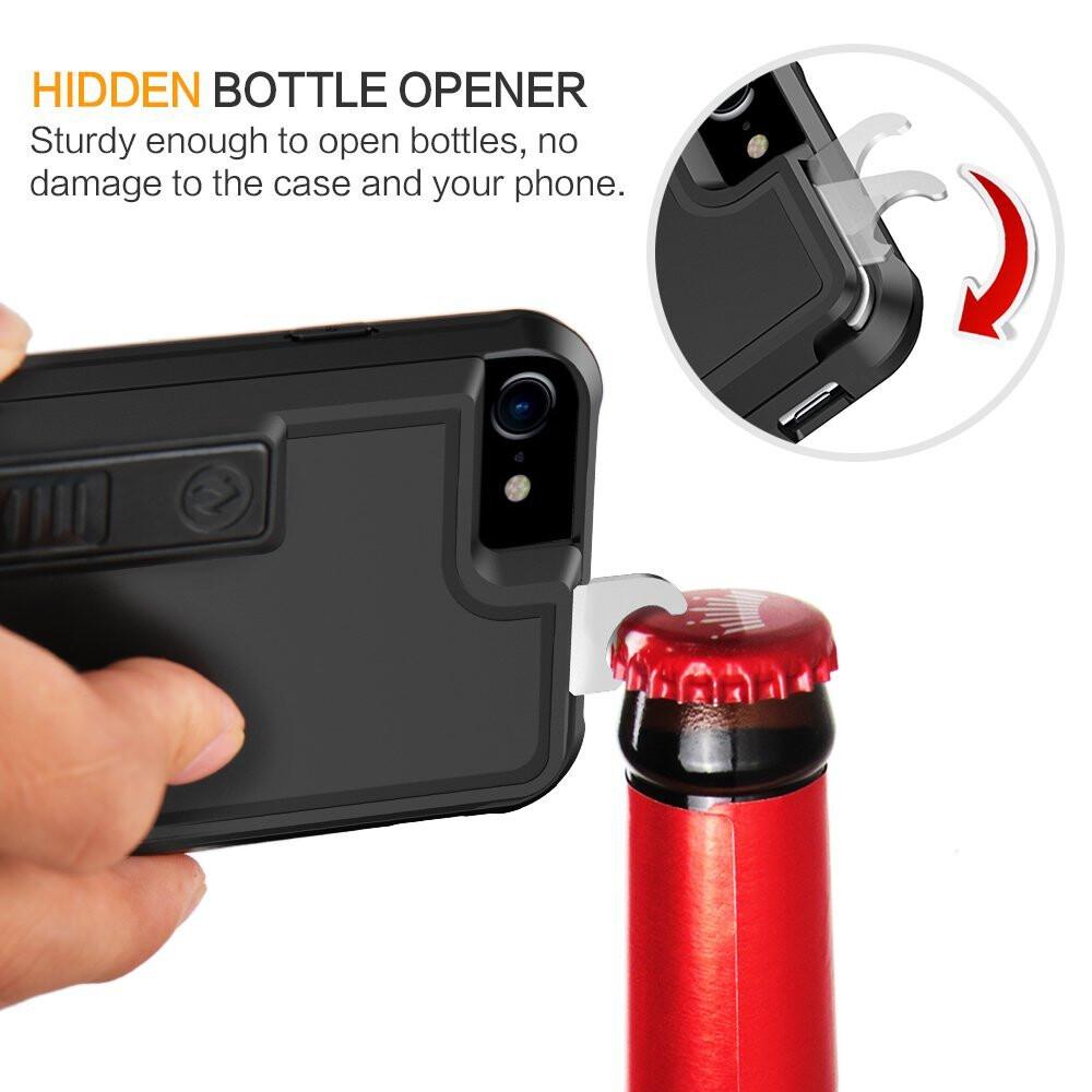 multifunctional cigarette lighter and bottle opener iphone 7 case. Black Bedroom Furniture Sets. Home Design Ideas