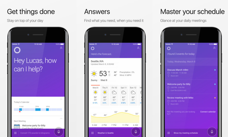 Cortana app on iPhone receives massive update with a new look and plenty of features