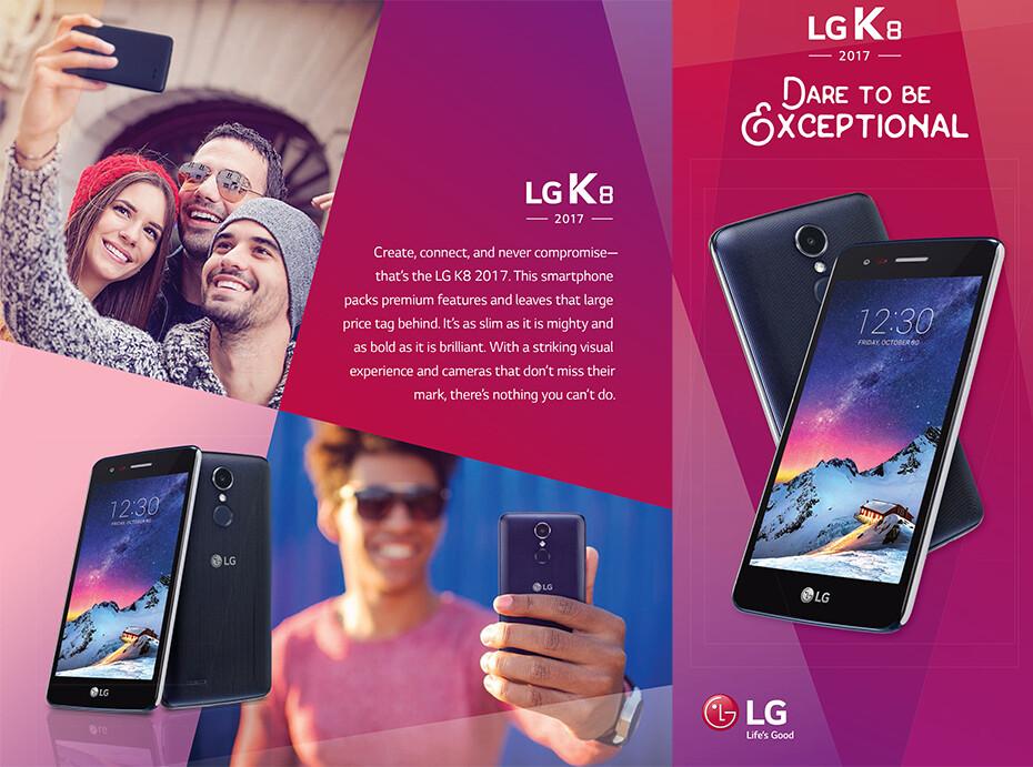 lg k8 2017. us cellular\u0027s lg k8 2017 lg