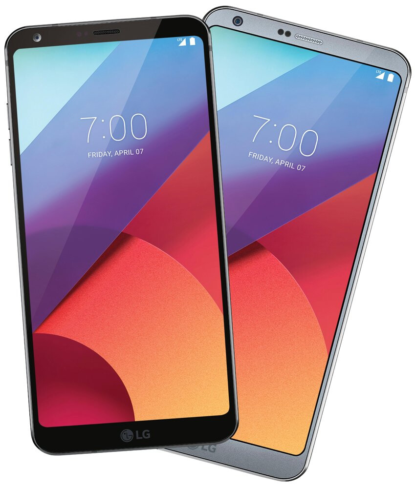 LG G6 image with the clock set to 7 am on April 7th corroborates the release date of the phone - LG G6 release date tipped in a leaked image
