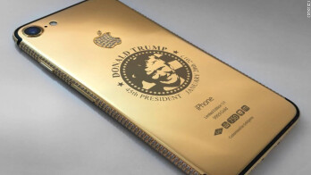 This gold-plated Trump iPhone 7 is not the most expensive handset in the bunch, but it might be the weirdest