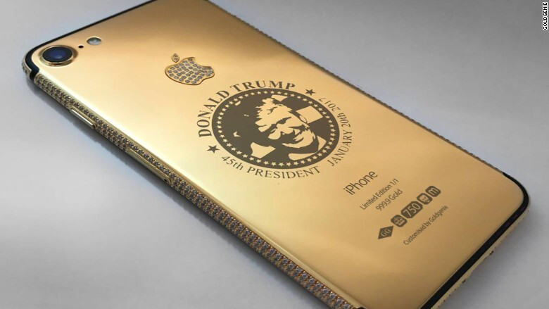 This gold-plated Trump iPhone 7 is not the most expensive handset in the bunch, but it might be the weirdest - 7 stupendously extravagant luxury smartphones that you'll probably never own (2017)