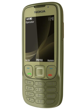 The Nokia 6303i classic will roll out in two color solutions