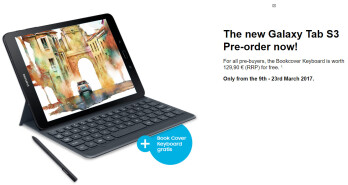 Samsung Galaxy Tab S3 pre-orders come with free Book Cover keyboard in tow in some countries