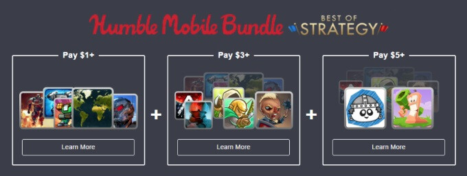 The latest Humble Mobile Bundle offers 12 Android strategy games for just $5