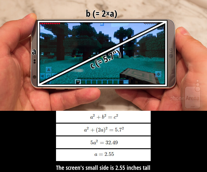 Getting the small side's exact size with the Pythagorean theorem