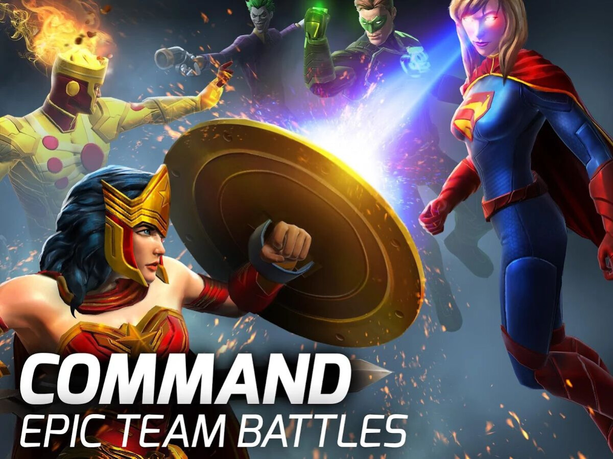 best superman and dc comics superhero games for android