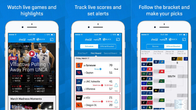 How to watch NCAA March Madness 2017 games live on your iPhone or Android device