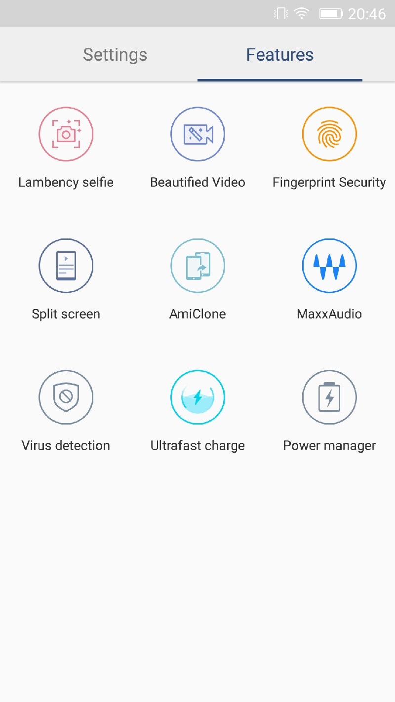 Gionee A1 interface screenshots - Gionee A1 hands-on: An exotic monster from Asia with an excellent selfie camera