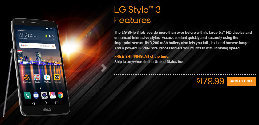 LG Stylo 3 brings Android 7.0 Nougat to Boost and Virgin Mobile for less than $200
