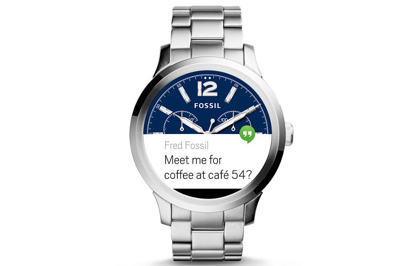 Fossil Q Founder - Fossil confirms Android Wear 2.0 global rollout begins March 15