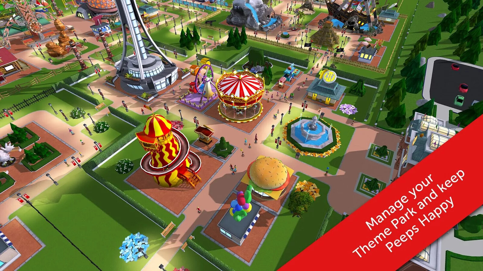 Atari's RollerCoaster Tycoon Touch rolls its way into ...