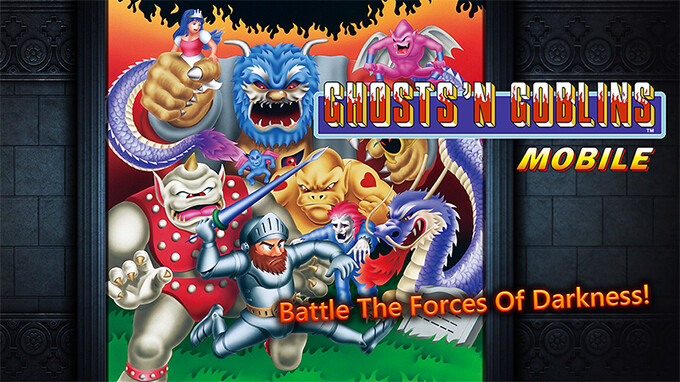 Notoriously difficult platformer Ghost 'n Goblins is now out on iOS and Android
