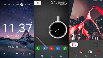 10 beautiful custom Android home screen layouts #8